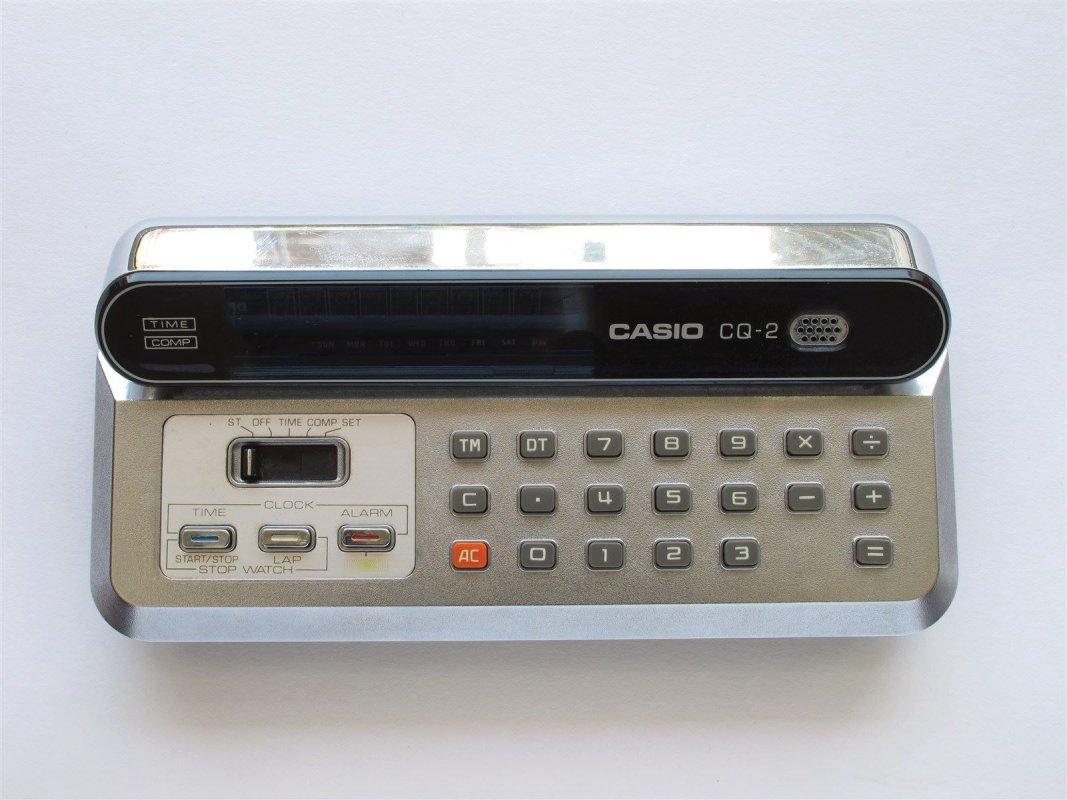 Casio Pocket LED calculator