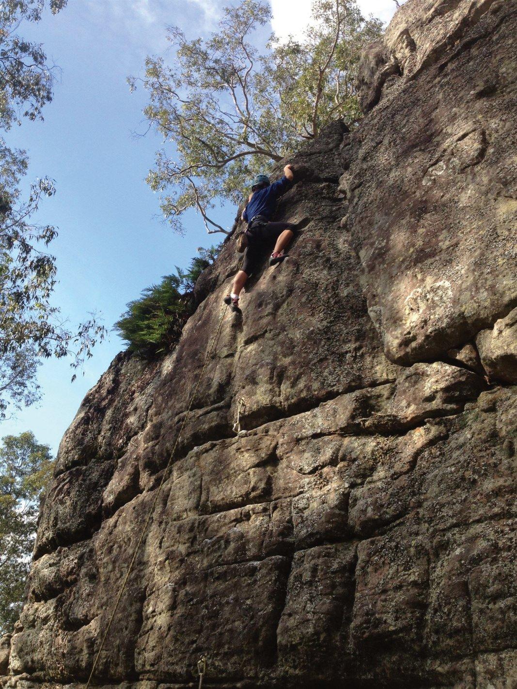 Nowra Rock Climbing copyright Climb Nowra 2013 ©