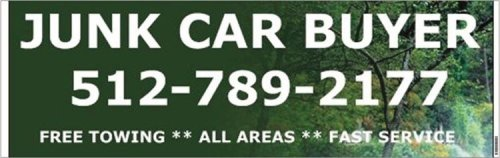Scrap your Vehicle for the highest price and the fastest service with our free towing and professional wrecker service on every junk car we buy at 512-789-2177