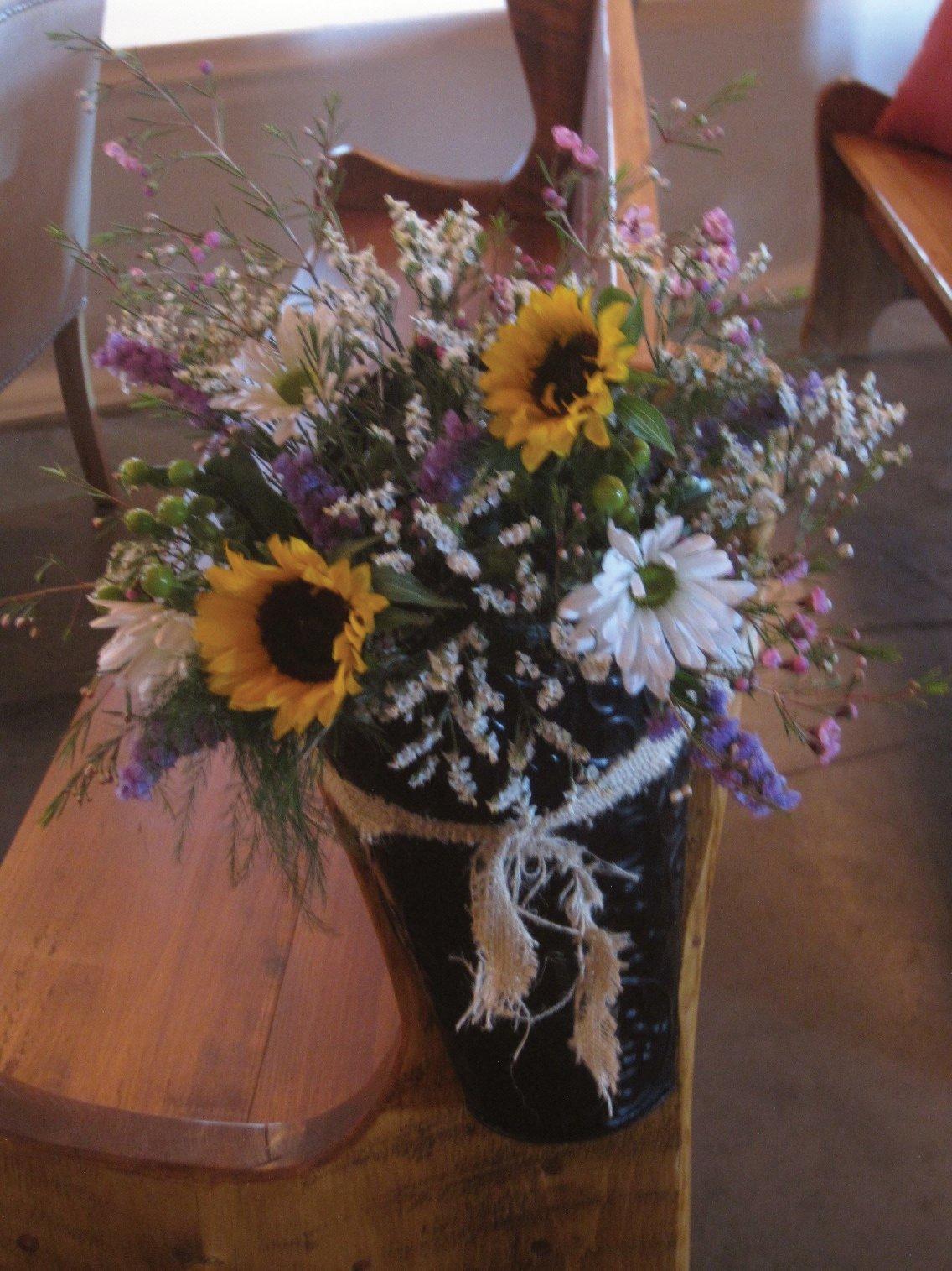 Discontinued flower decor