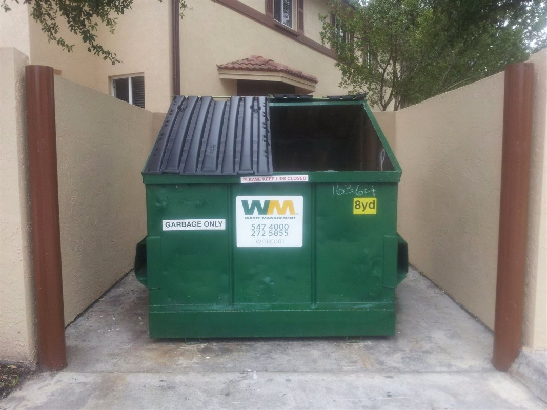 New Garbage Dumpsters
