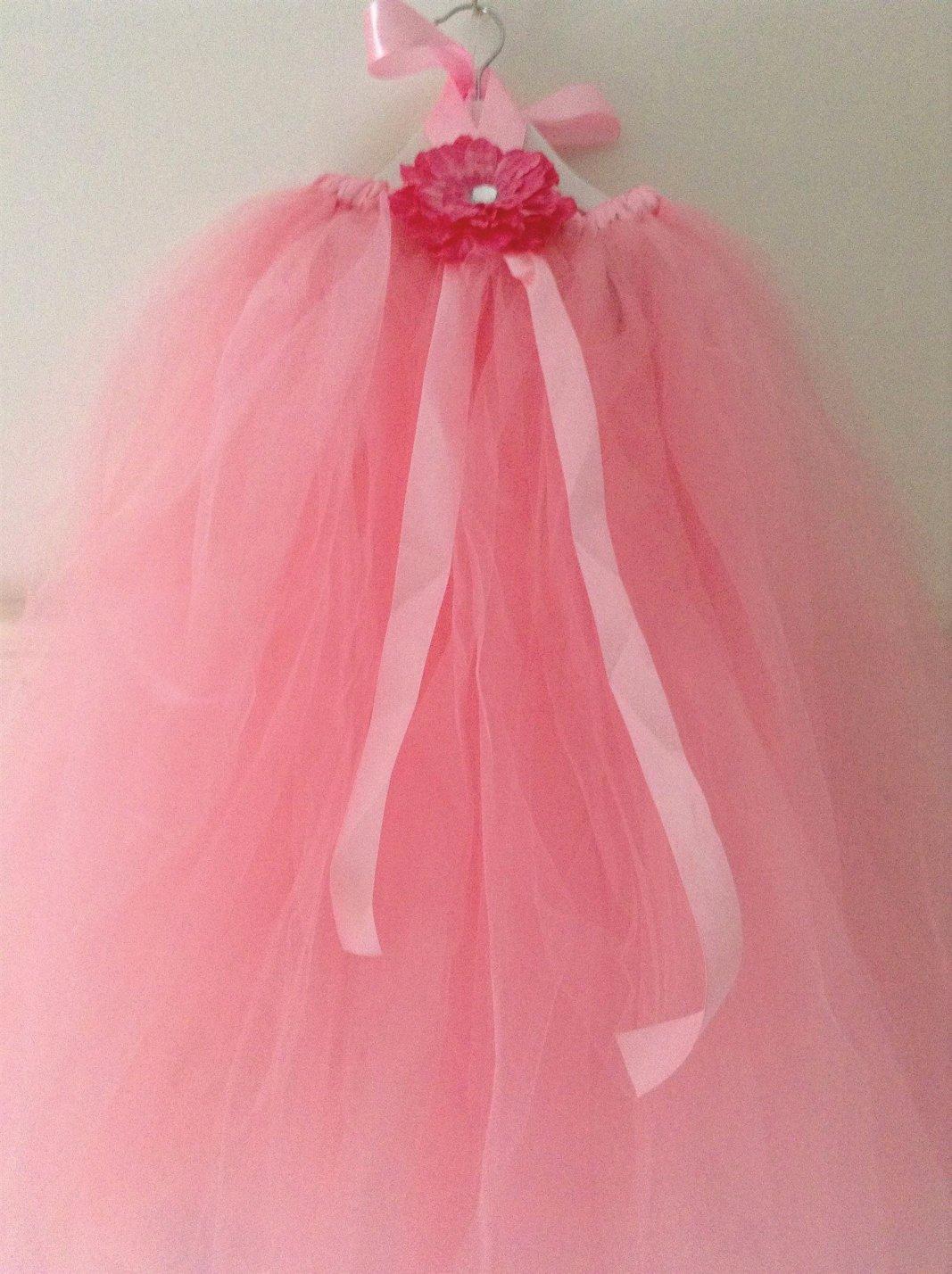 Pink multiway dress-skirt tutu