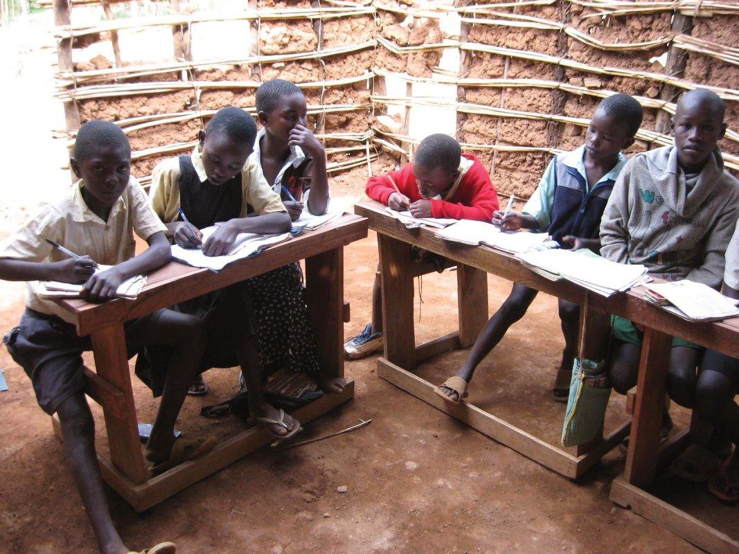 Orphan class in Oyugis, Kenya