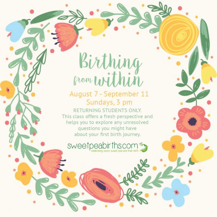 Birthing From Within childbirth classes offered in Arizona: convenient to Chandler, Tempe, Ahwatukee, Gilbert, Mesa, Scottsdale, Payson