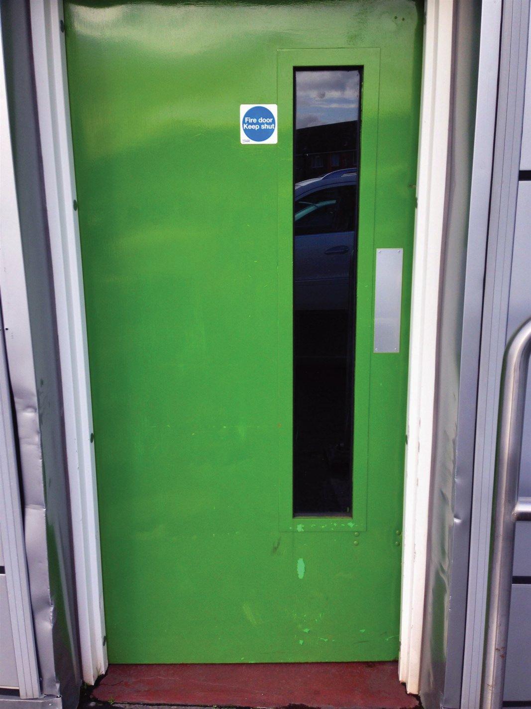 """The """"Green Door"""" #2"""