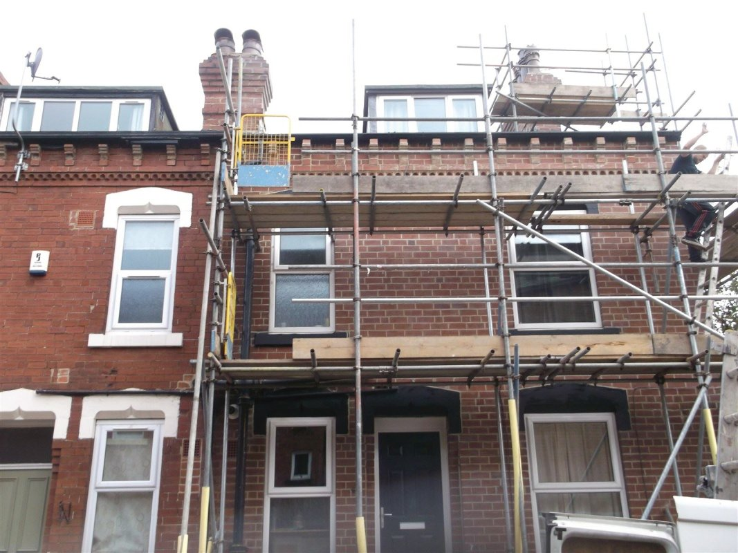 repointed brickwork  heddon place all work carried out by leeds pointing