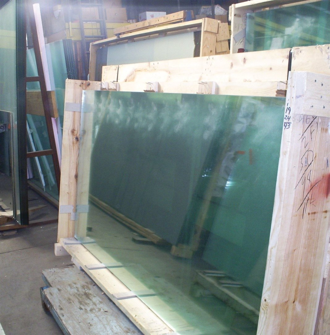 We stock every size and thickness of glass