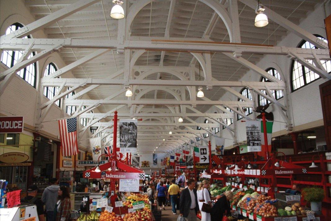 Saint John City Market Center Aisle