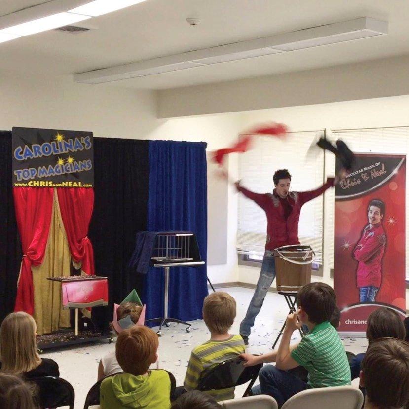 Amazing Birthday Party Magicians in New Bern North Carolina