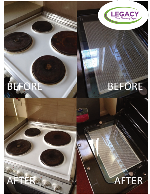 Legacy Hob and Oven Cleaning