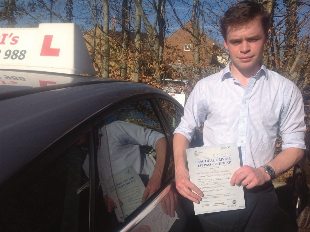 First time pass at Yeovil DTC