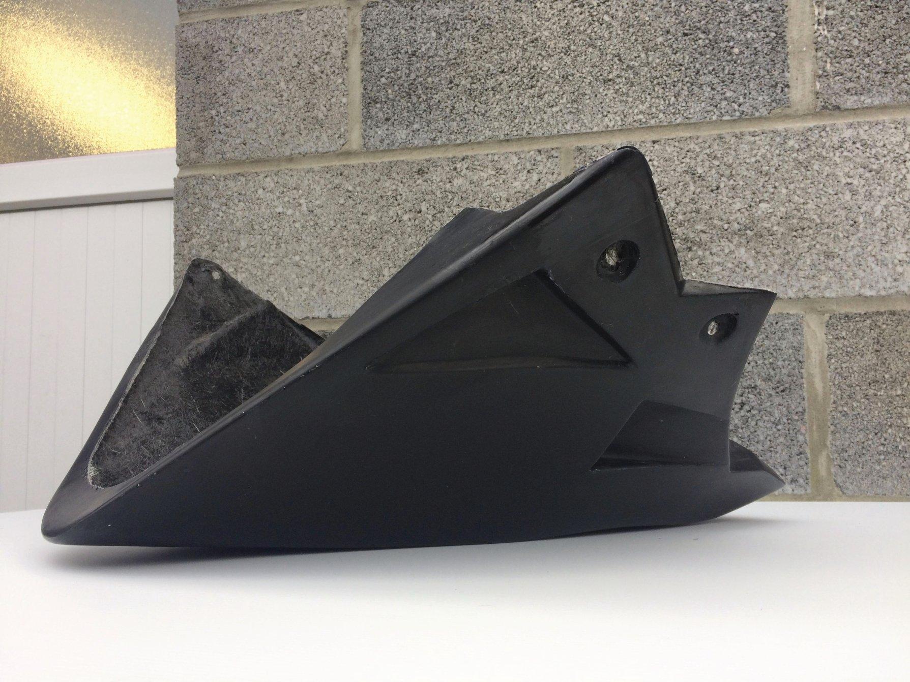 kawasaki z800 protection sabot fibre de verre.