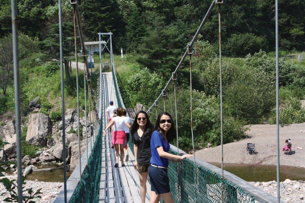 Fundy Trail Suspension Bridge of Big Salmon River