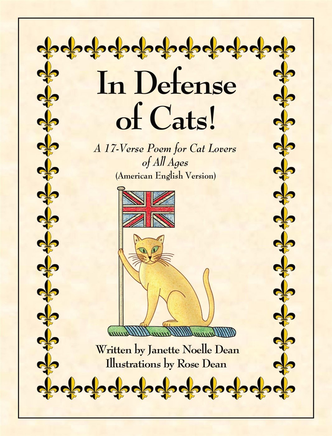 The brand new cat book about cats called In Defense of Cats! is for cat lovers of all ages and features the English cat Sir William, a cat defender and proponent, named in honor of William Shakespeare. See more at http://www.indefenseofcats.com