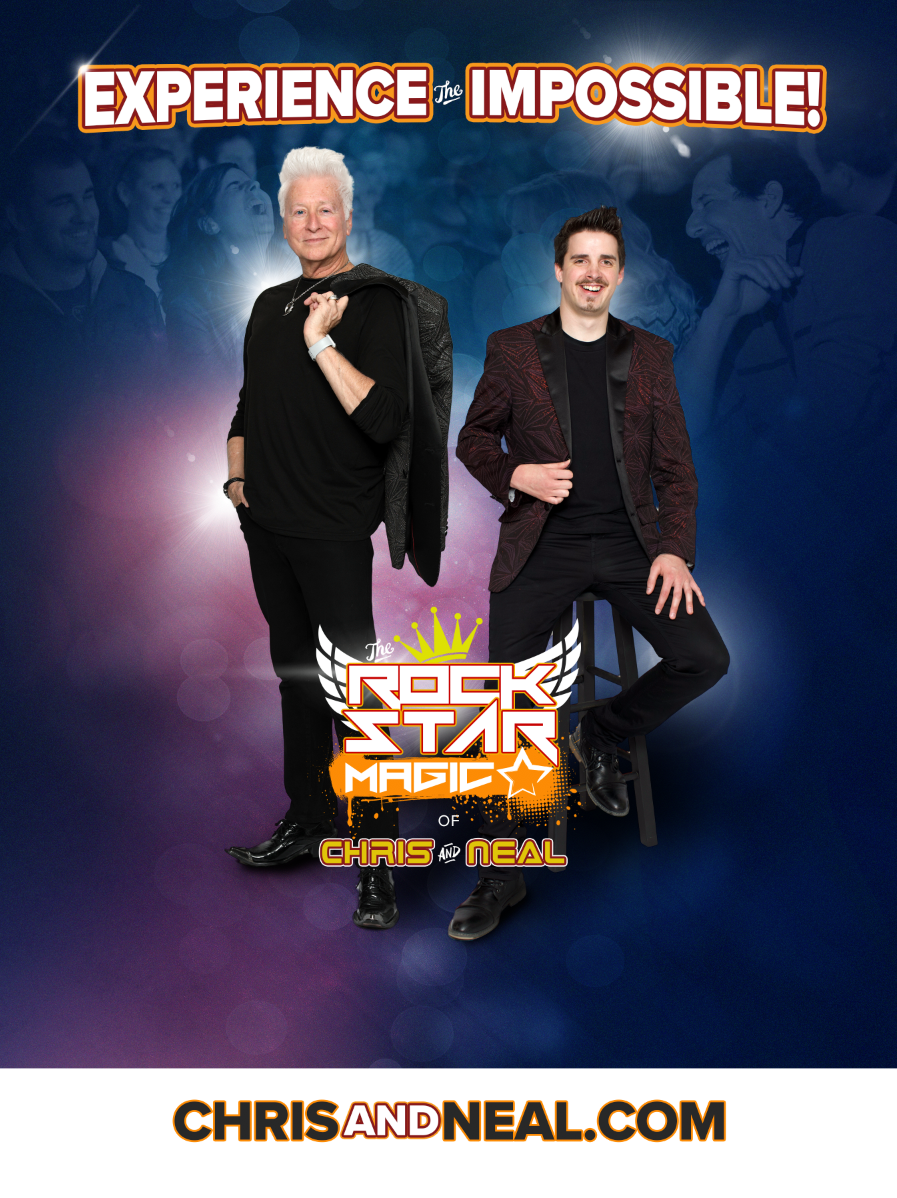 Experience the Impossible with Rockstar Magic of Chris and Neal, the Carolinas Leading Family Magicians in Wake Forest and Raleigh North Carolina