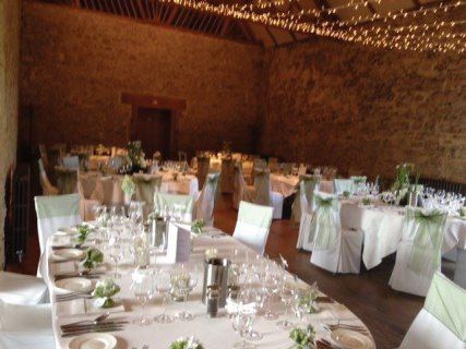 Notley Abbey Wedding Breakfast