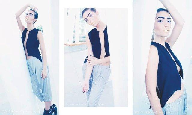 Photographer: Jackie Duncan; Model: Chelsea Green; MUA: Nyla Olynyk; Hair: Nathan Mass; Designer: Troy Anthony Designs