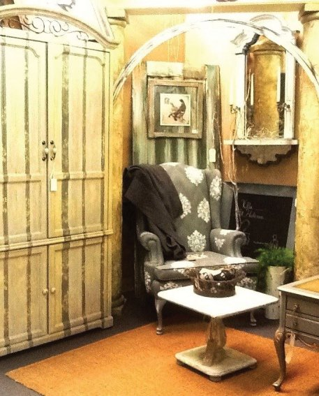 La Belle Amore upscales Shabby Chic style