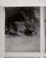 Enlargement: Right Window, Lower Half, Upper Left Pane (Deep Infrared)
