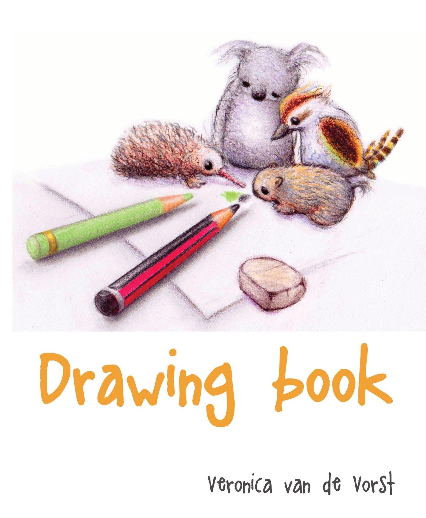 drawing book, tekenboek