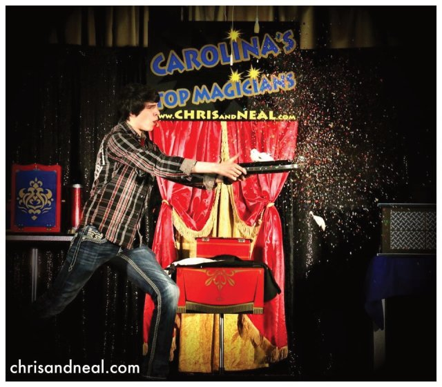 Kids Magicians in Raleigh NC for Birthday Parties