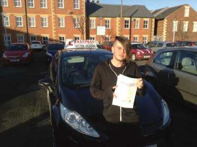 Driving Schools Whitley Bay. Lewis.www.fastpassnortheast.co.uk