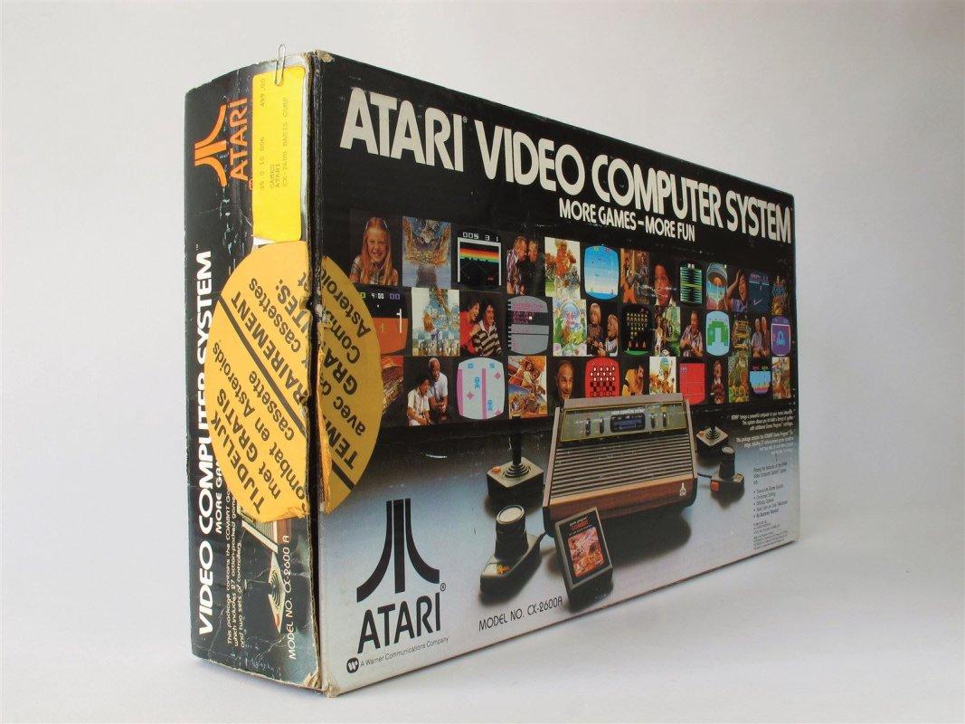 Atari 2600 box