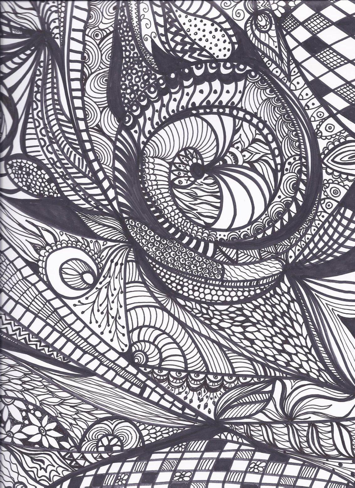 Ornamental zeichnen-Workshop mit Regina Landsiedel-Gerlach