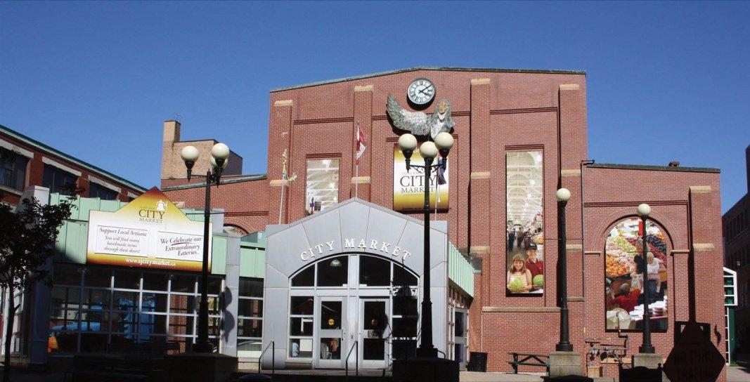 Saint John City Market lower Entrance