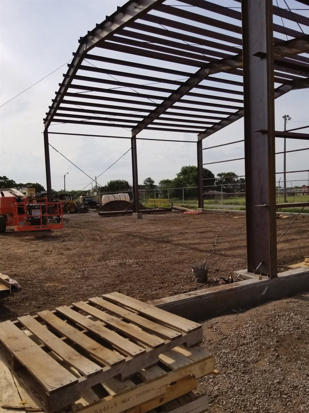 : Getting the framing done
