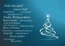 Eure Personal Trainer für Bochum wünschen frohe Weihnachten.
