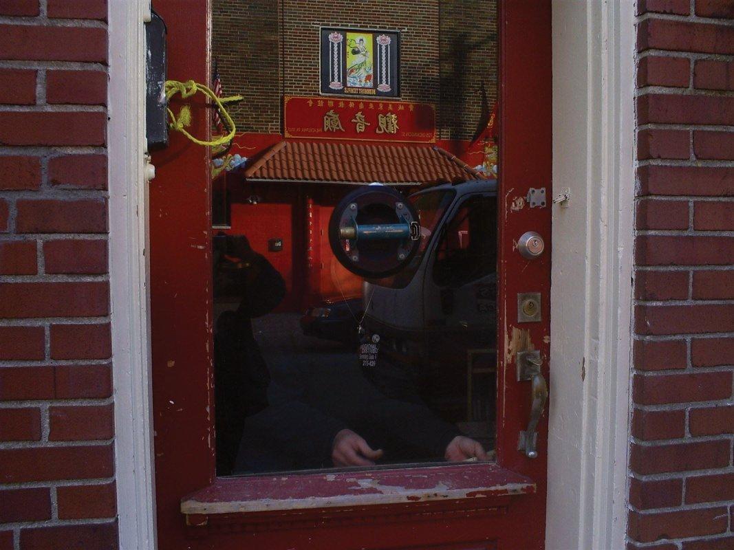 laminated safety glass door repair