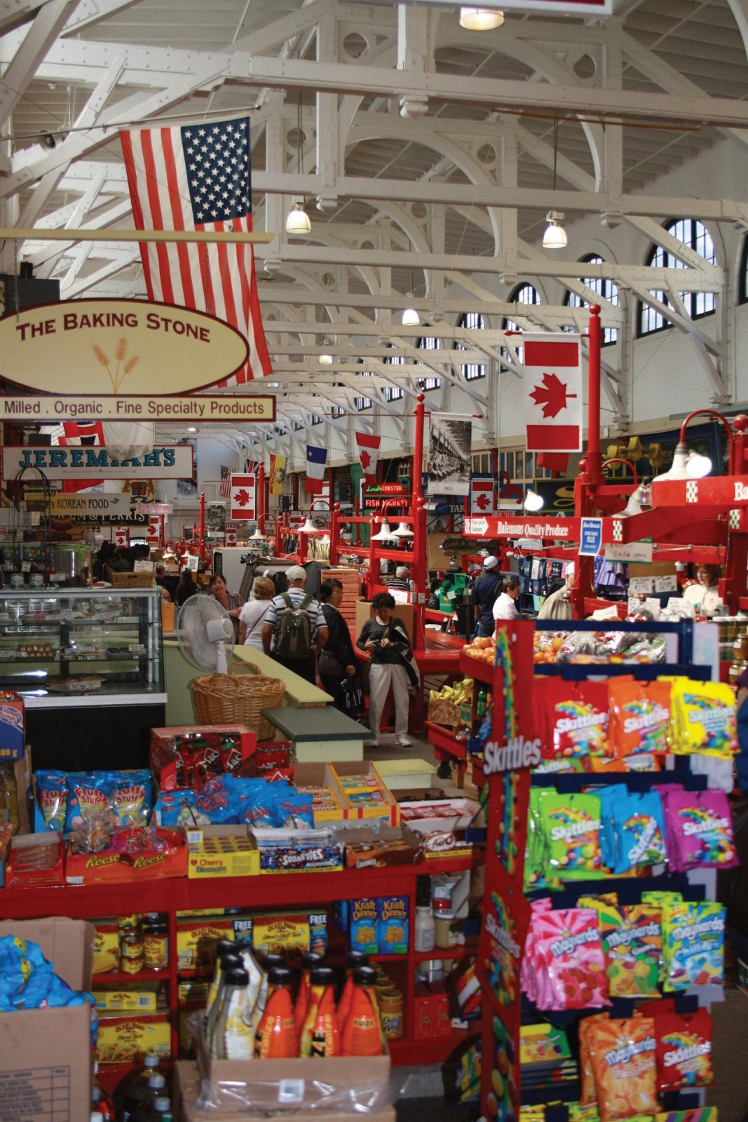 Enjoy the bustling sound, smells of spice and exotic foods of this colorful place, the Saint John City Market!
