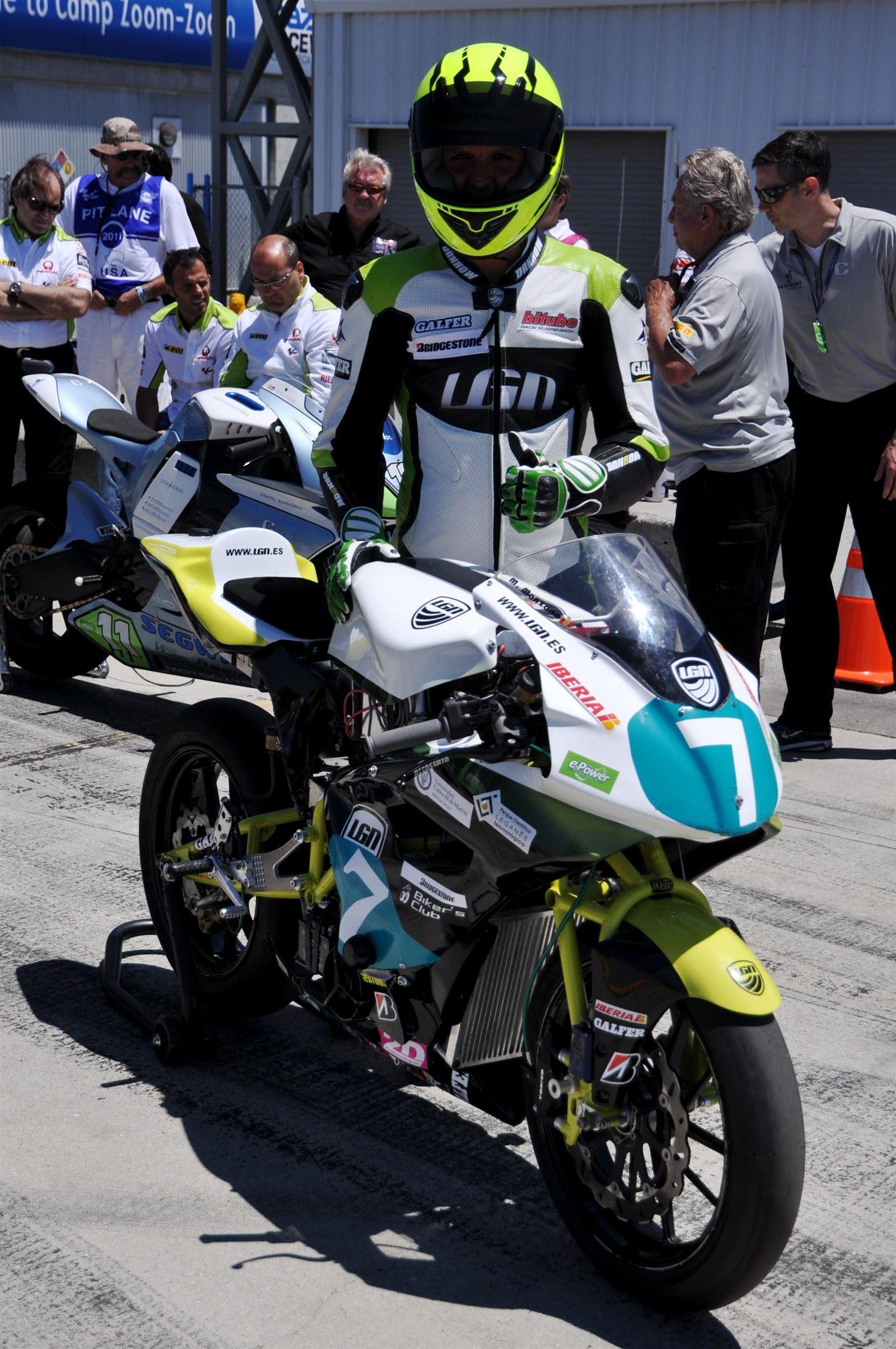 LGN Team Pilot Marcelino Manzano