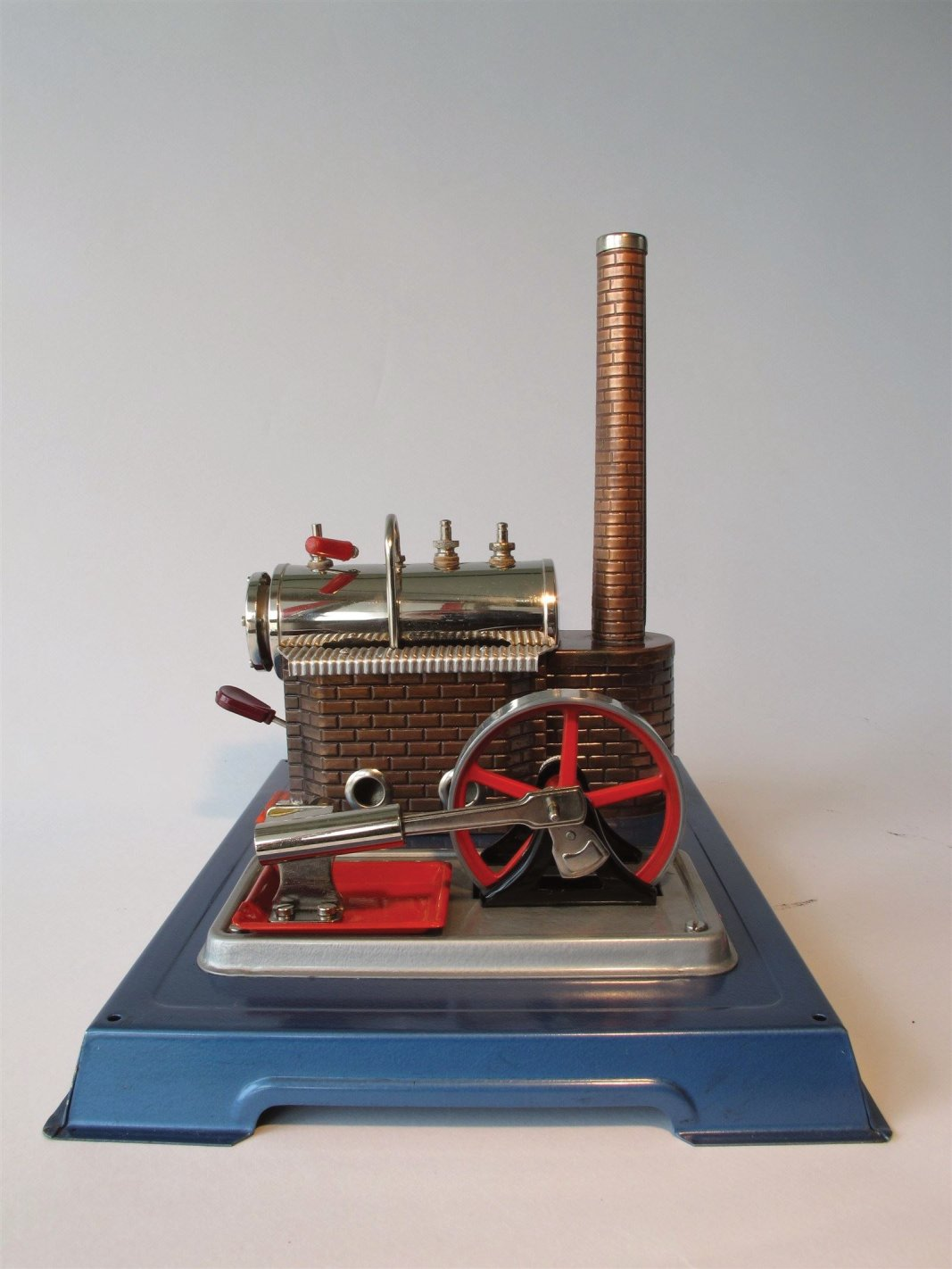 tin toy steam engine