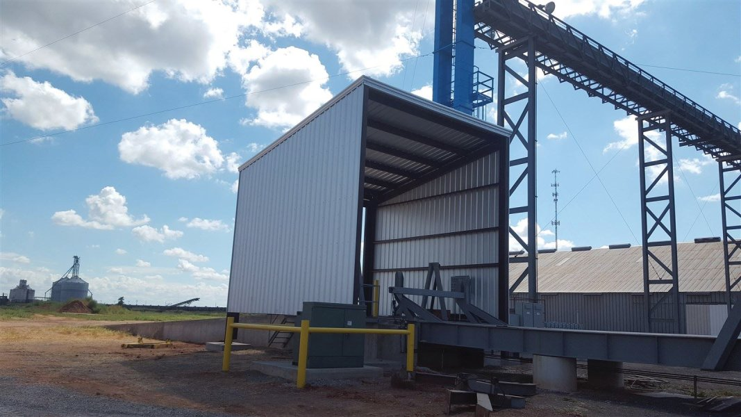 : completed industrial metal buliding