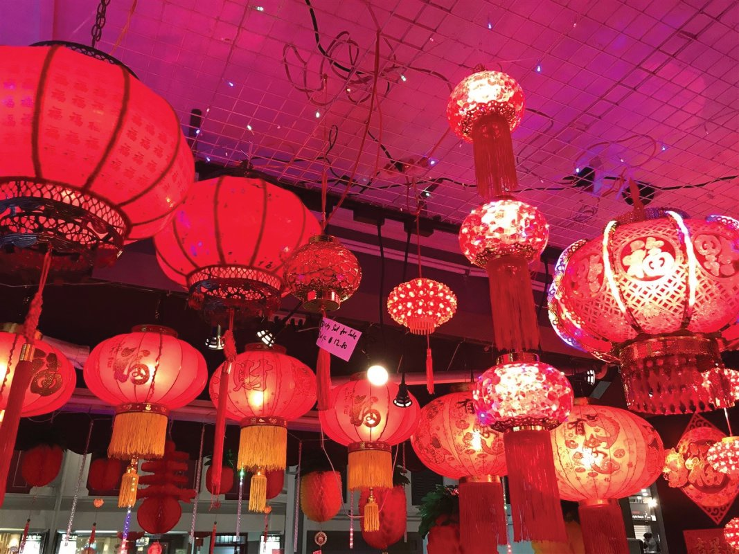 Chinese New Year, Red Lanterns