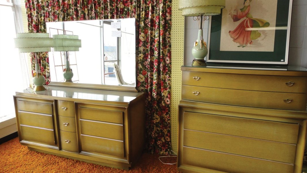 Fifties/mid century bedroom set