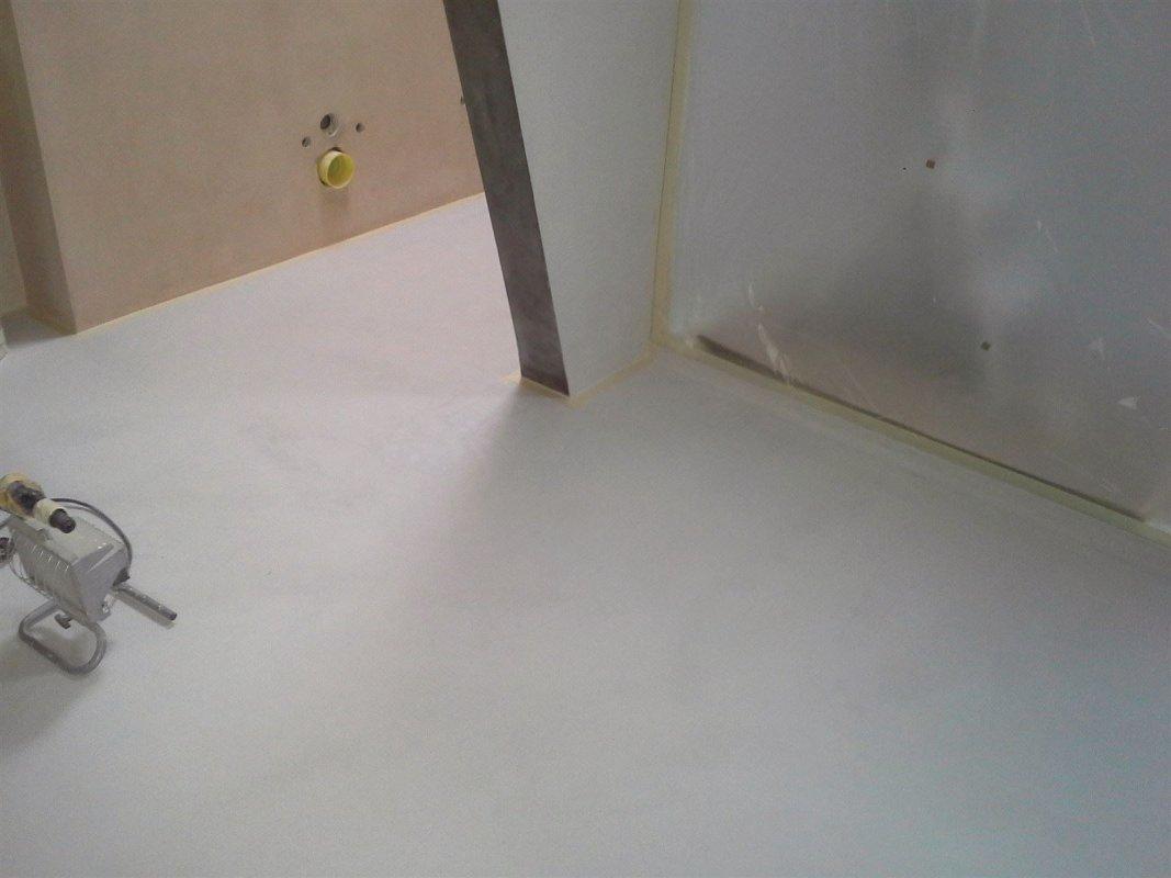 Bodenbeschichtung Betonlook Hausrenovierung Sudmant  Karlsruhe Rasstatt Baden-Baden