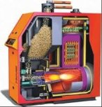 Biomass Pellet Boiler will provide more enegy efficient heating and reduce co2 emissions
