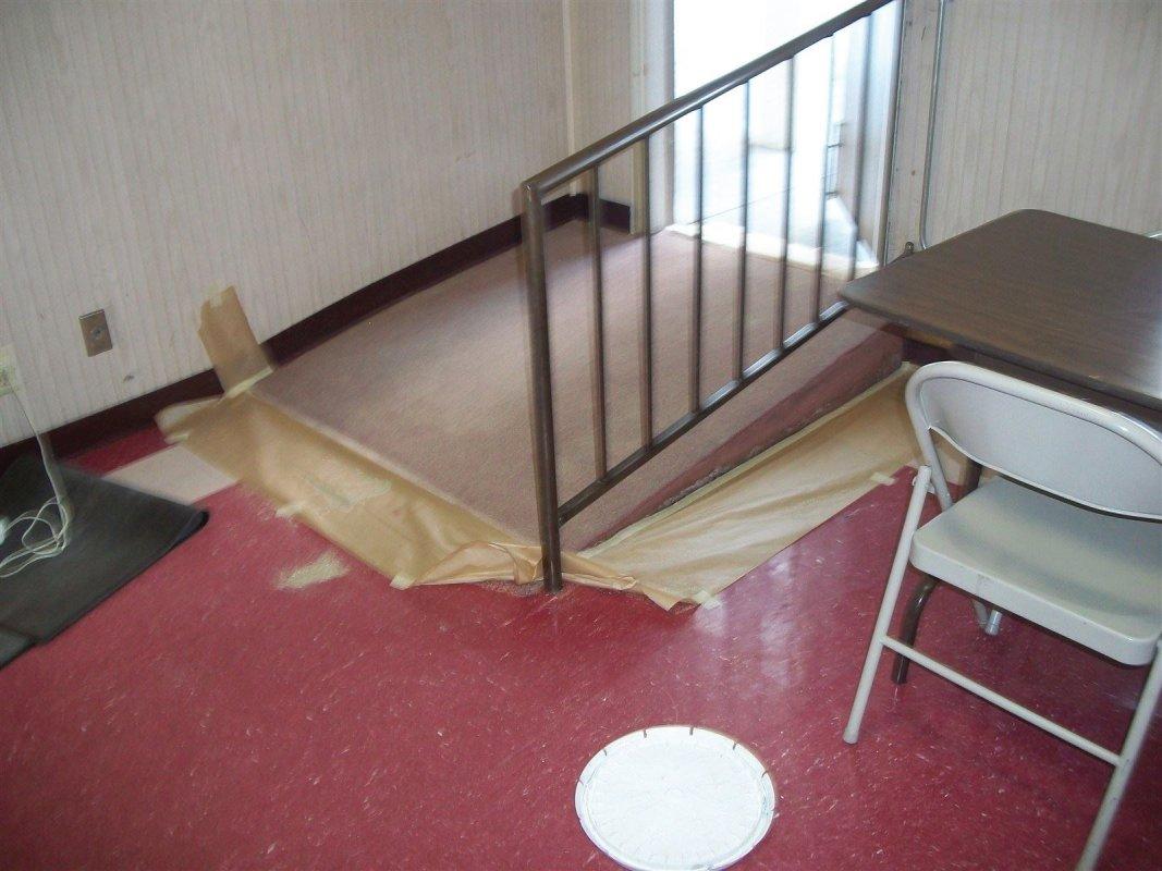 commercial painting, floor coatings