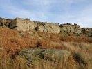 My first rock climb on Burbage North.