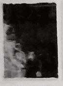 Enlargement: Left Window, Upper Half, Lower Center Pane (Deep Infrared)