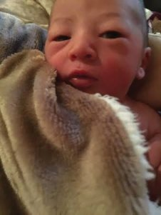 Birth story - Baby P born at home