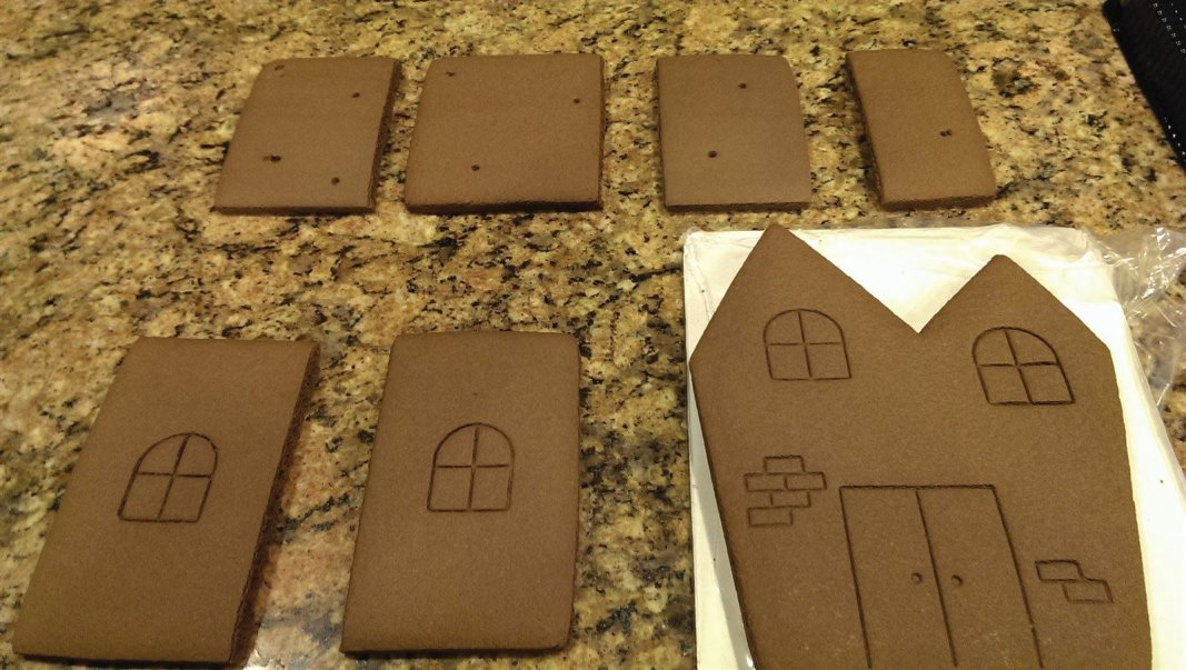 Chocolate gingerbread!