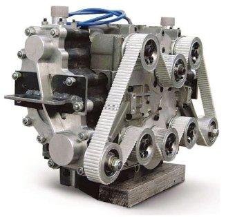 Tata Motors Compressed air engine.
