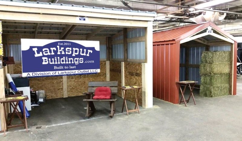 Larkspur Buildings Alpaca Trade Show 2018