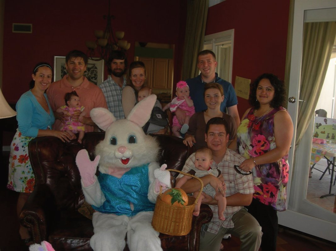 Our Series 2 group gathered together for an Easter Egg Hunt - fun was had by all!