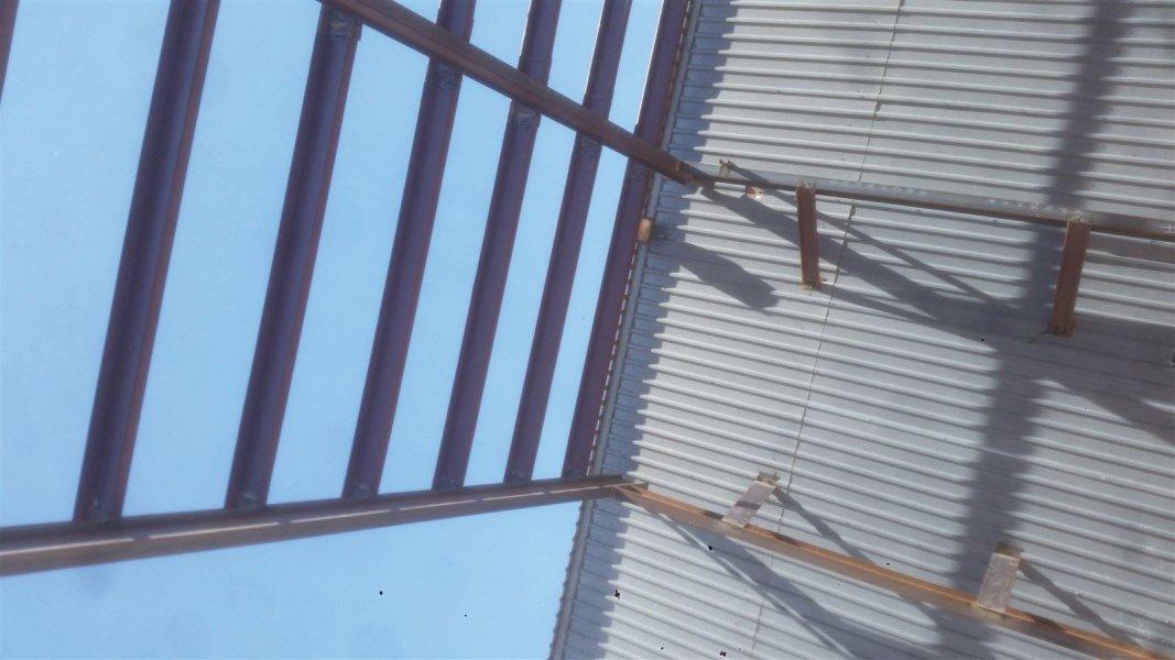 : industrial weld up metal building