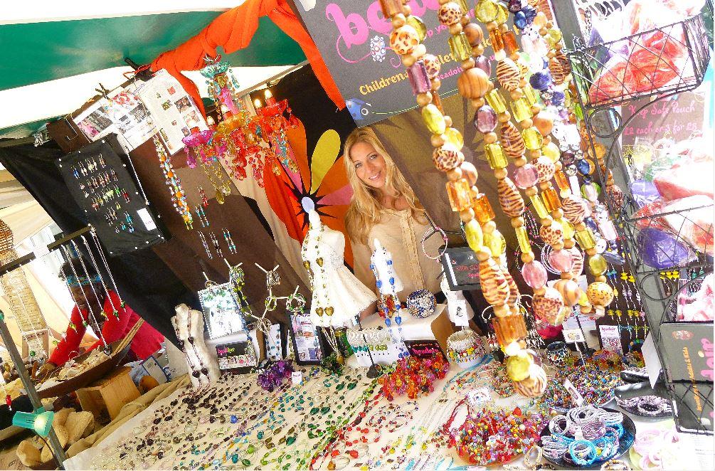 Beadoir stall at Thames Festival